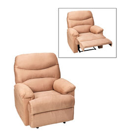 London Drugs Manual Recliner Chair - Camel - AF10004