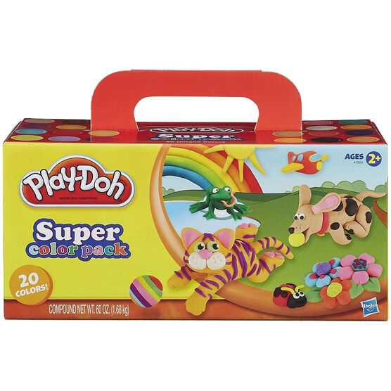 Play-Doh Super Colour Pack - 20 colours