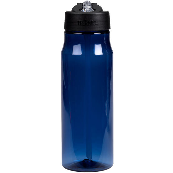 Thermos Hydration Bottle with Straw - Blue