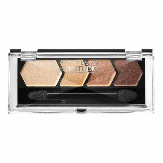 Maybelline Eye Studio Color Plush Silk Eyeshadow Quad - Give Me Gold