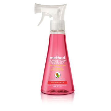 Method Dish Foam - Pink Grapefruit - 473ml