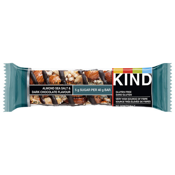 Kind Dark Chocolate - Almond Sea Salt - 40g