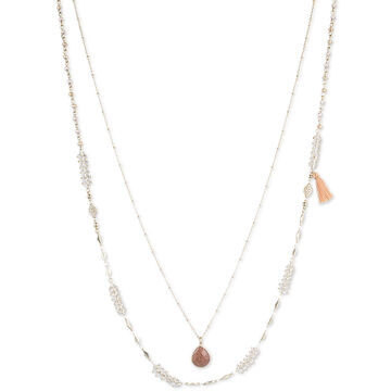 Lonna & Lilly 2-in-1 Pendant Necklace - Multi