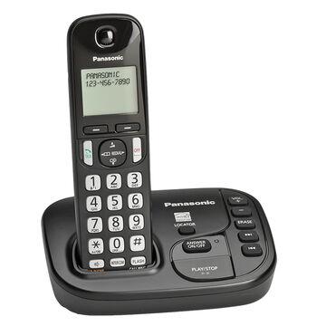 Panasonic Expandable Digital Cordless Answering System with 1 Handset - KX-TGD220B