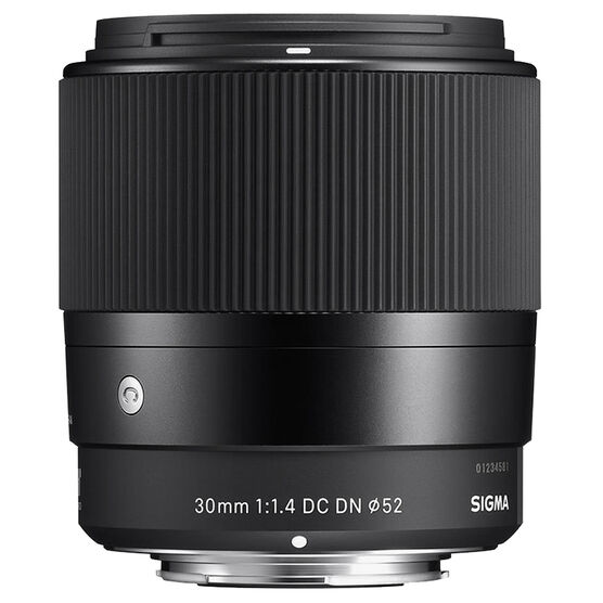 Sigma Contemporary 30mm F1.4 DC DN Lens for Sony - C30DCDNSE