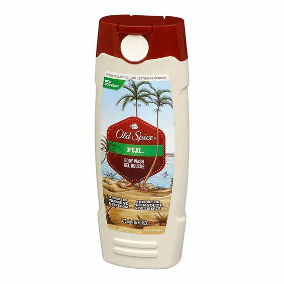 Old Spice Fresh Collection Body Wash - Fiji - 473ml