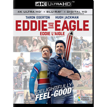 Eddie The Eagle - 4K UHD Blu-ray