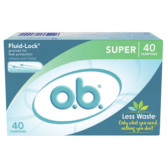 O.B. Tampons - Super - 40's