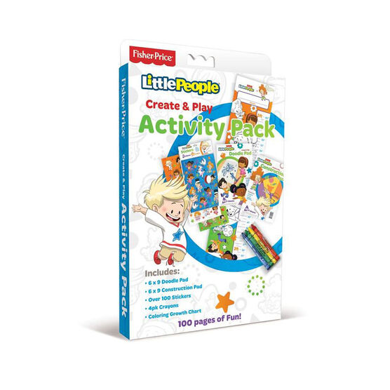 Fisher Price - Little People Create & Play Activity Pack