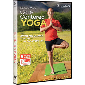 Gaiam Rodney Yees Core Centered Yoga - DVD
