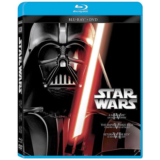Star Wars Trilogy: Episodes IV, V, VI - Blu-ray + DVD