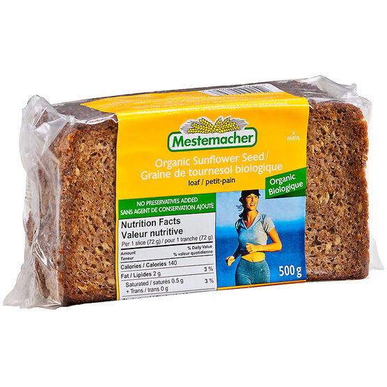 Mestemacher Loaf - Organic Sunflower Seed - 500g