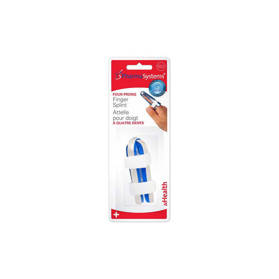 PharmaSystems Four Prong Finger Splints - Medium - PS213M