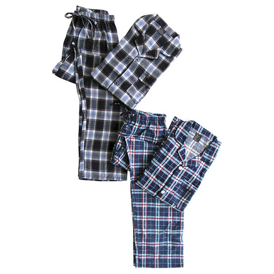 Simon Chang Flannel Pyjamas - Men's - Assorted