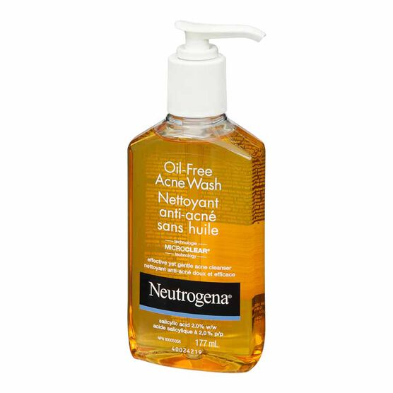 Neutrogena Oil-Free Acne Wash - 177ml