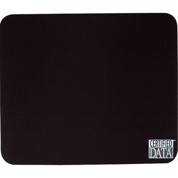 Certified Data Mouse Pad - Black - MP-1BLK