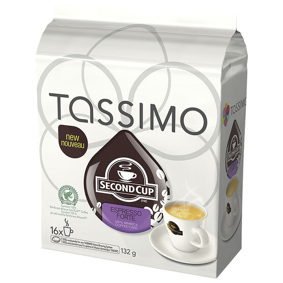 Tassimo Second Cup Espresso Forte - 16 servings
