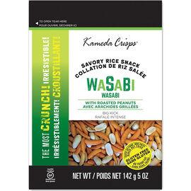 Kameda Crisps - Wasabi with Peanuts - 142g