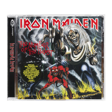 Iron Maiden - The Number Of The Beast (Remastered) - CD