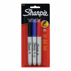 Sharpie Fine - 3 pack