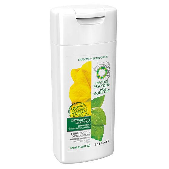 Herbal Essences Wild Naturals Detoxifying Shampoo - 100ml