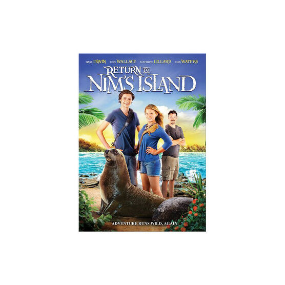 Return To Nims Island - DVD