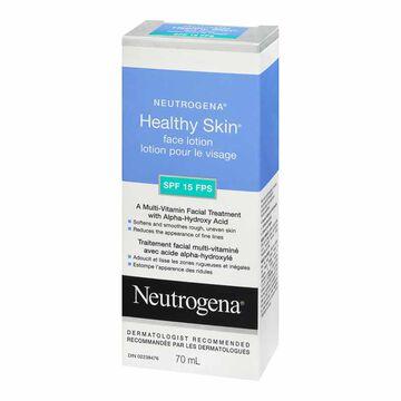 Neutrogena Healthy Skin Face Lotion - SPF 15 - 70ml
