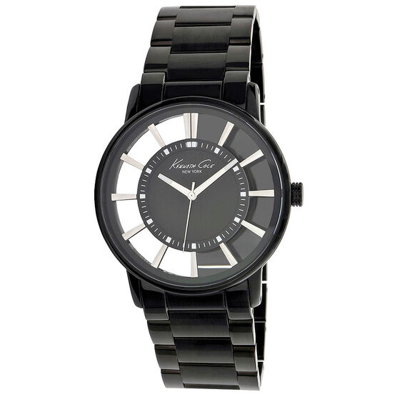 Kenneth Cole Transparency Watch - Black - 10010706
