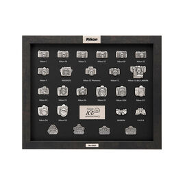 PRE-ORDER: Nikon 100th Anniversary Pin Collection - 4202