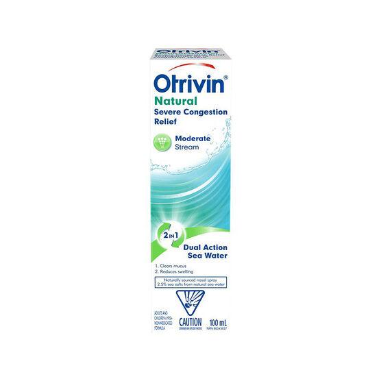 Otrivin Strong Stream Saline - 100ml