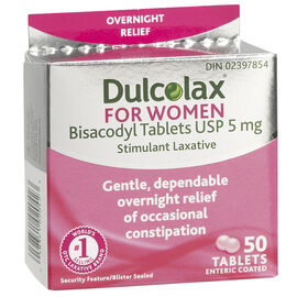Dulcolax For Women Laxative Tablets - 50's