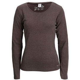 Azur Solid Long Sleeve Tee - Ladies - Assorted