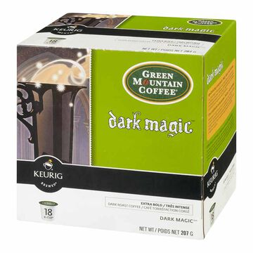 Keurig K-Cup Green Mountain Coffee Pods - Dark Magic - 18's