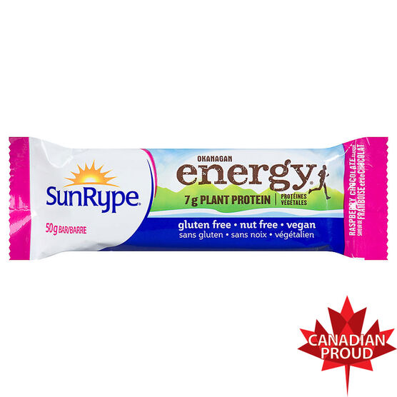 Sun-Rype Okanagan Energy Bar - Chocolate Raspberry - 50g