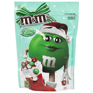 M&M's Milk Chocolate Mint Holiday Mix - 200g