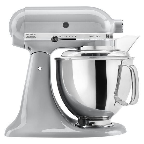KitchenAid Artisan Series 5 quart Stand Mixer - Metallic Chrome - KSM150PSMC