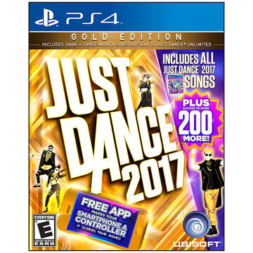 PRE-ORDER: PS4 Just Dance 2017 Gold Edition