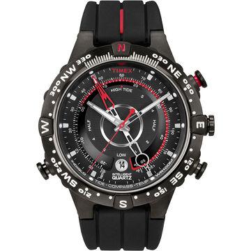 Timex IQ Tide Temp Pass Compass - Black - T2N720ZA