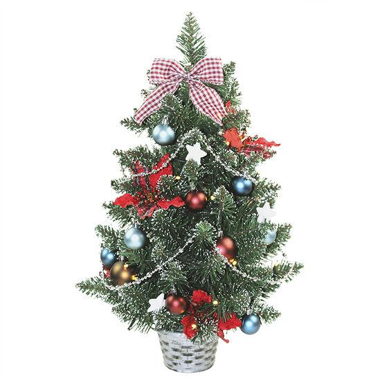 Pre-Lit Tabletop Christmas Tree - 60cm - X6855 ACE00DR
