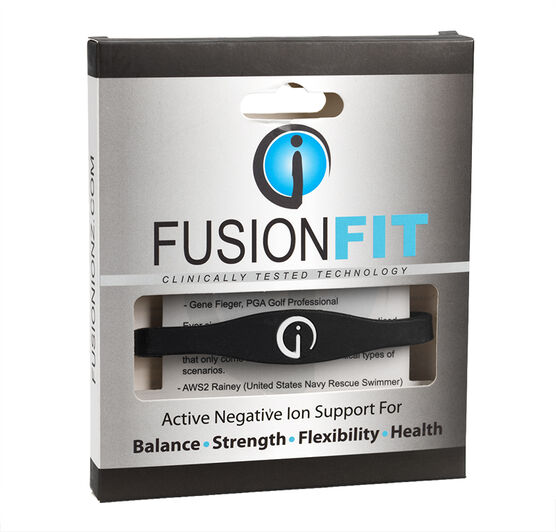 Fusion IONZ Fit Bracelet - Black - Medium