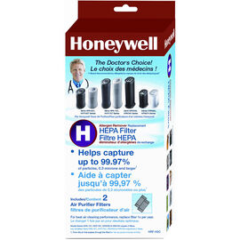 Honeywell True HEPA Replacement Filter - 2 pack - HRF-H2C