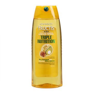 Garnier Fructis Triple Nutrition Fortifying Shampoo - 750ml