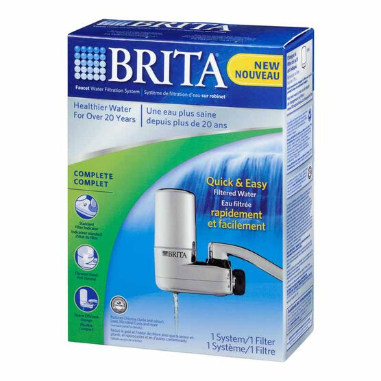 Brita Faucet Mount - Chrome