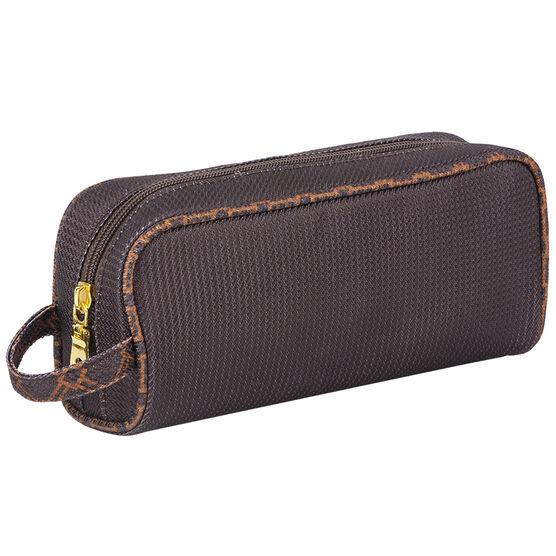 Modella Brown Faux Jacquard Rectangle Kit - A002013LDC