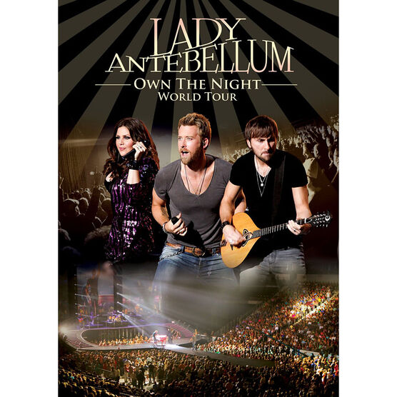 Lady Antebellum - Own the Night World Tour - DVD