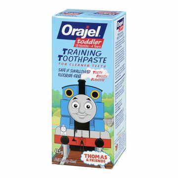 Orajel Toddler Training Toothpaste - Thomas & Friends - Tooty Fruity - 42.5g