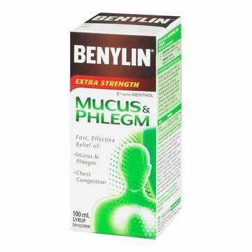 Benylin Mucus & Phlegm - Extra Strength - 100ml
