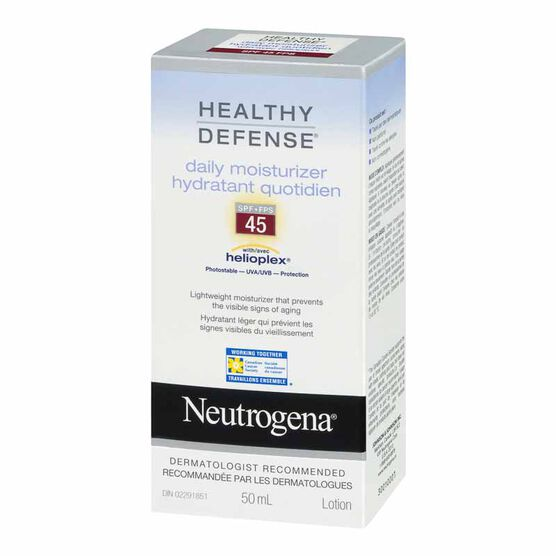 Neutrogena Healthy Defense Daily Moisturizer with Helioplex - SPF 45 - 50ml
