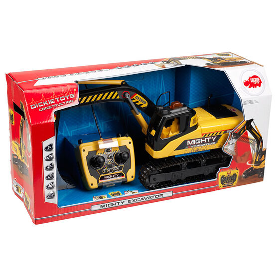 Dickie Toys Construction - Remote Control Mighty Excavator