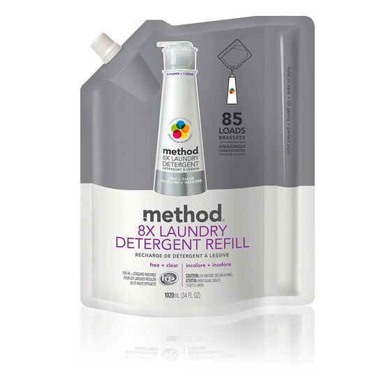 Method Laundry Detergent Refill - Free and Clear - 1L